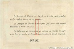 1 Franc FRANCE régionalisme et divers Dieppe 1918 JP.052.04 TTB+