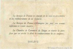 1 Franc FRANCE régionalisme et divers DIEPPE 1918 JP.052.04 TTB
