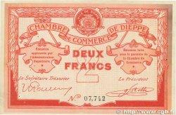 2 Francs FRANCE régionalisme et divers Dieppe 1918 JP.052.07 TTB