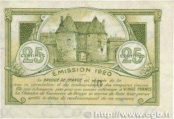 25 Centimes FRANCE régionalisme et divers DIEPPE 1920 JP.052.10 SUP