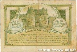 25 Centimes FRANCE régionalisme et divers Dieppe 1920 JP.052.10 TTB