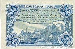 50 Centimes FRANCE régionalisme et divers DIEPPE 1920 JP.052.14 TTB+