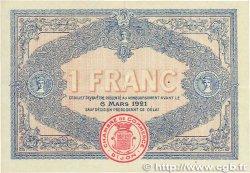 1 Franc FRANCE régionalisme et divers DIJON 1916 JP.053.09 SUP