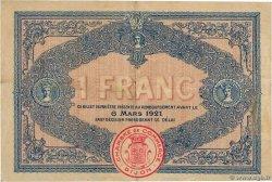 1 Franc FRANCE régionalisme et divers DIJON 1916 JP.053.09 TTB