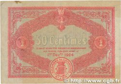 50 Centimes FRANCE régionalisme et divers Dijon 1919 JP.053.17 TTB