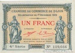 1 Franc FRANCE régionalisme et divers Dijon 1919 JP.053.20 SPL+