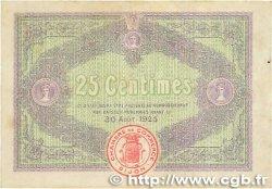 25 Centimes FRANCE régionalisme et divers Dijon 1920 JP.053.23 TTB+