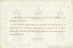 1 Franc FRANCE régionalisme et divers ELBEUF 1917 JP.055.11 SUP