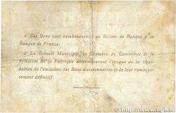 1 Franc FRANCE régionalisme et divers ELBEUF 1917 JP.055.11 pr.TTB