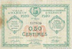 50 Centimes FRANCE régionalisme et divers Elbeuf 1920 JP.055.15 TTB+