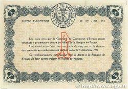 1 Franc FRANCE régionalisme et divers ÉVREUX 1915 JP.057.01 SPL