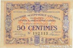 50 Centimes FRANCE régionalisme et divers Évreux 1916 JP.057.08 TTB