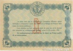1 Franc FRANCE régionalisme et divers ÉVREUX 1921 JP.057.20 SUP+