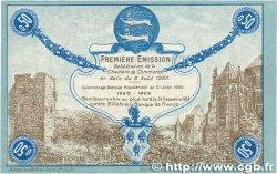 50 Centimes FRANCE régionalisme et divers FÉCAMP 1920 JP.058.01 NEUF
