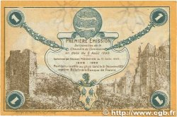 1 Franc FRANCE régionalisme et divers Fécamp 1920 JP.058.03 TTB
