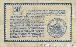 50 Centimes FRANCE régionalisme et divers Foix 1915 JP.059.05 TTB