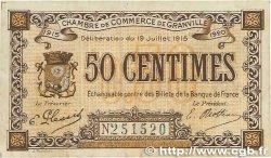 50 Centimes FRANCE régionalisme et divers Granville 1915 JP.060.01 TTB
