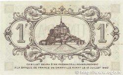 1 Franc FRANCE régionalisme et divers Granville 1915 JP.060.05 pr.SPL