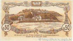 50 Centimes FRANCE régionalisme et divers Granville 1917 JP.060.11 SPL