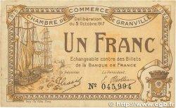 1 Franc FRANCE régionalisme et divers GRANVILLE 1917 JP.060.13 TTB+