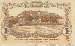 1 Franc FRANCE régionalisme et divers GRANVILLE 1917 JP.060.13 TTB