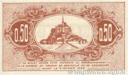 50 Centimes FRANCE régionalisme et divers GRANVILLE et CHERBOURG 1920 JP.061.01 SUP+