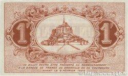 1 Franc FRANCE régionalisme et divers GRANVILLE et CHERBOURG 1920 JP.061.03 SUP