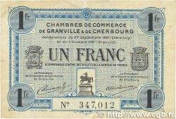 1 Franc FRANCE régionalisme et divers GRANVILLE et CHERBOURG 1921 JP.061.08 TTB