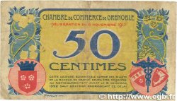 50 Centimes FRANCE régionalisme et divers GRENOBLE 1917 JP.063.12 B