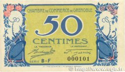 50 Centimes FRANCE régionalisme et divers Grenoble 1917 JP.063.16 SUP+