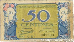 50 Centimes FRANCE régionalisme et divers GRENOBLE 1917 JP.063.17
