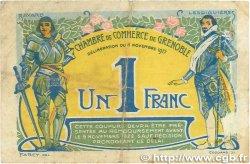 1 Franc FRANCE régionalisme et divers Grenoble 1917 JP.063.20 TB