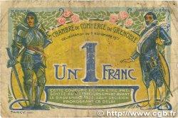 1 Franc FRANCE régionalisme et divers GRENOBLE 1917 JP.063.25 B