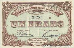 1 Franc FRANCE régionalisme et divers GUÉRET 1915 JP.064.03 SPL