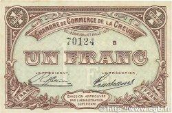 1 Franc FRANCE régionalisme et divers Guéret 1915 JP.064.03 TTB+
