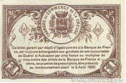 1 Franc FRANCE régionalisme et divers GUÉRET 1915 JP.064.04 SUP+