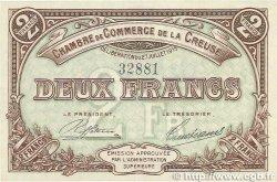 2 Francs FRANCE régionalisme et divers Guéret 1915 JP.064.05 SPL+