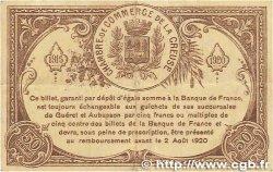 50 Centimes FRANCE régionalisme et divers Guéret 1915 JP.064.07 SUP