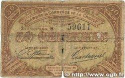 50 Centimes FRANCE régionalisme et divers GUÉRET 1915 JP.064.07 B