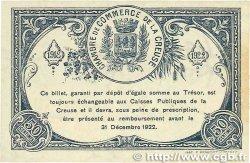 50 Centimes FRANCE régionalisme et divers GUÉRET 1918 JP.064.16 SPL