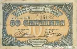 50 Centimes FRANCE régionalisme et divers GUÉRET 1918 JP.064.16 TTB