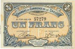 1 Franc FRANCE régionalisme et divers GUÉRET 1918 JP.064.17 SPL