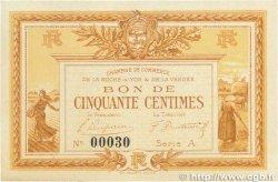 50 Centimes FRANCE régionalisme et divers LA ROCHE-SUR-YON 1915 JP.065.01 pr.SPL
