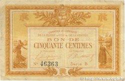 50 Centimes FRANCE régionalisme et divers LA ROCHE-SUR-YON 1915 JP.065.01 pr.TTB