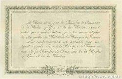 2 Francs FRANCE régionalisme et divers La Roche-Sur-Yon 1915 JP.065.10 SPL