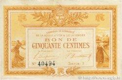 50 Centimes FRANCE régionalisme et divers LA ROCHE-SUR-YON 1915 JP.065.16 TTB+
