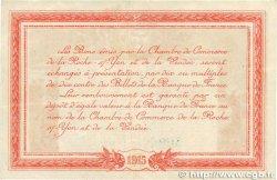 1 Franc FRANCE régionalisme et divers LA ROCHE-SUR-YON 1915 JP.065.17 TTB+