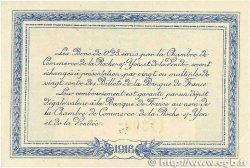 25 Centimes FRANCE régionalisme et divers La Roche-Sur-Yon 1916 JP.065.26 pr.SPL