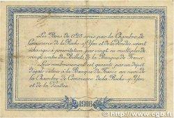 25 Centimes FRANCE régionalisme et divers La Roche-Sur-Yon 1916 JP.065.26 TTB