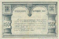 50 Centimes FRANCE régionalisme et divers La Rochelle 1915 JP.066.01 SUP